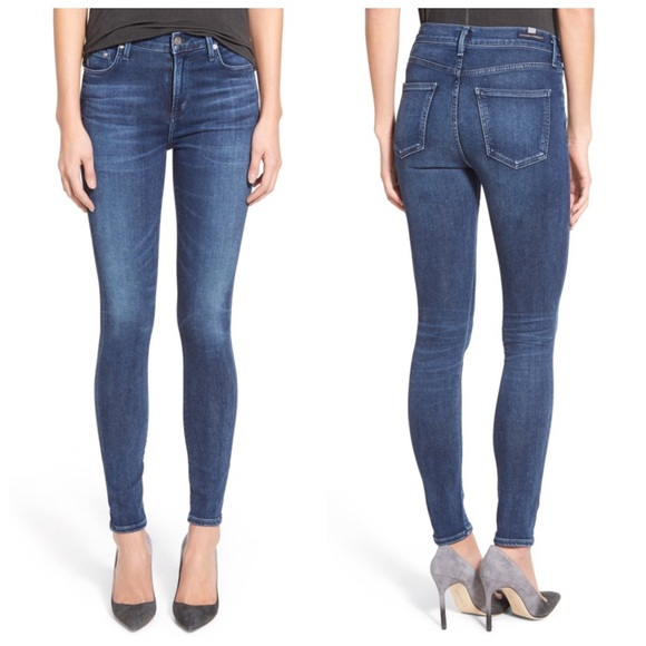 Citizens Of Humanity Jeans 24X26 Rocket High Rise!