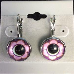 Jewelry - New Pink Flower Earrings