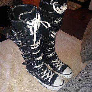 b68a2f1da75e Converse Shoes - 🍏CHUCK TAYLORS-Knee High Buckle Strapped Sneakers