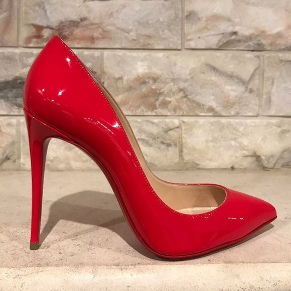 f8c6ddd0c5b Christian Louboutin Pigalle Follies 100 Red Fraise. Boutique