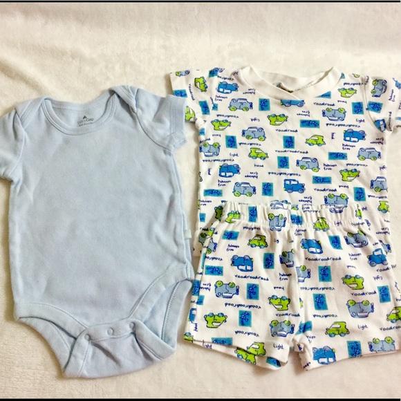 bb8bd36b57f9 GAP Other - Gap Onesie   Miniwear PJ Boys Set!