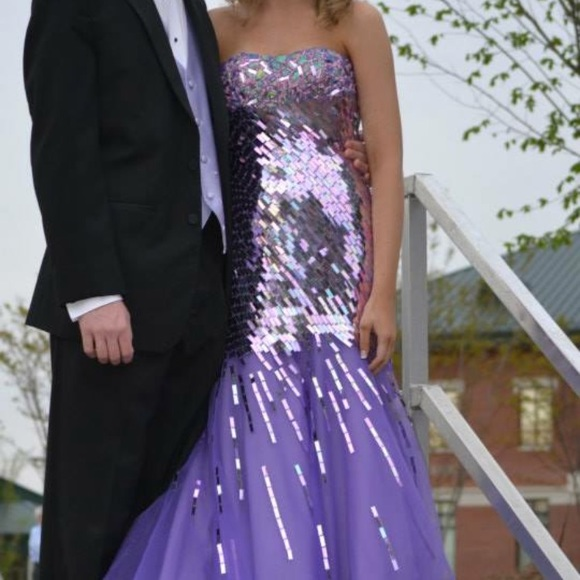 Merle Norman Dresses Purple Prom Dress Poshmark