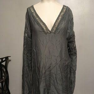 Slate grey dress
