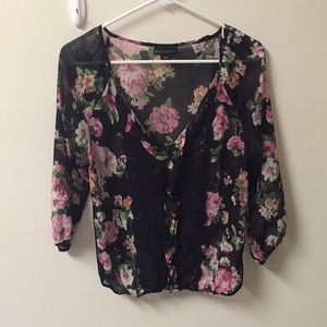 Metaphor Floral blouse