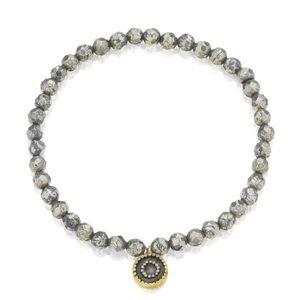 Satya Jewelry Pyrite Sun Bracelet - Prism
