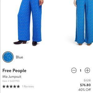 Free People Pants - FP Jumpsuit