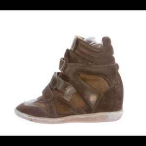 Isabel Marant Beckett Wedge Sneakers | Size 9