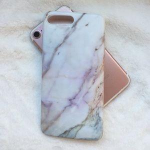 Pink Multi Color Soft Rubber Case iPhone 7/8 PLUS