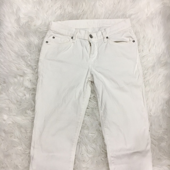 7 For All Mankind Denim - 7 For All Mankind White Skinny Jeans