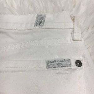 7 For All Mankind Jeans - 7 For All Mankind White Skinny Jeans