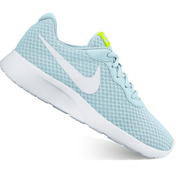 2b1c362740 Nike Tanjun Women s Athletic Shoes in Glacier Blue