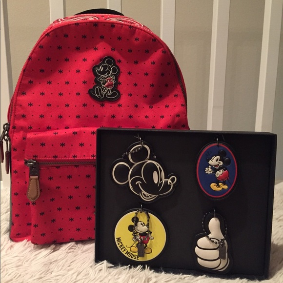 cd3723b2988 Coach Mickey Mouse Large Charlie Backpack