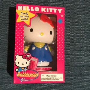 NWT Hello Kitty Bobblepops with strawberry candy