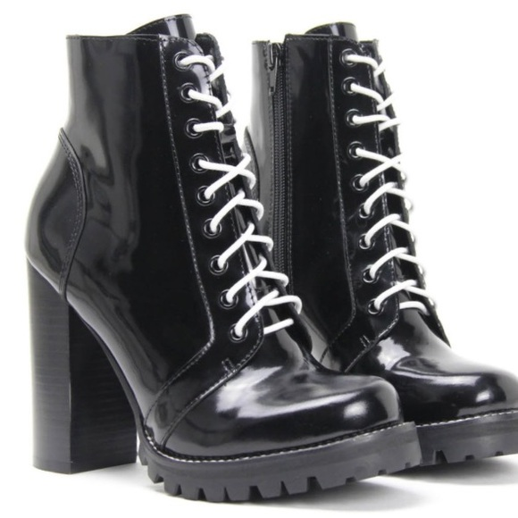 25b5beb92 Jeffrey Campbell Shoes | Legion Combat Heeled Boots | Poshmark