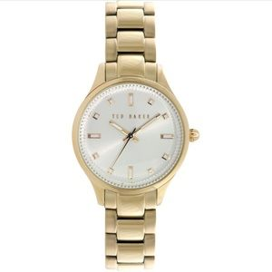 TED BAKER Gold Bracelet Strap Watch