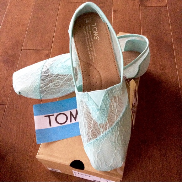 85fbe047a93 Toms Shoes | Bnib Mint Lace Rope Womens Espadrilles | Poshmark