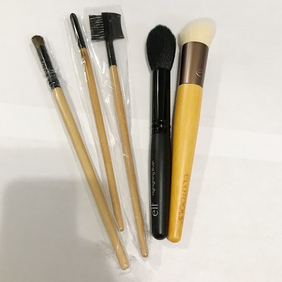 Ecotools Makeup Bundle Of Brushes Elf Highlihting Poshmark