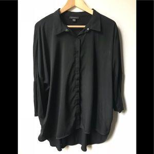 🛍 Black Button Shirt 🛍