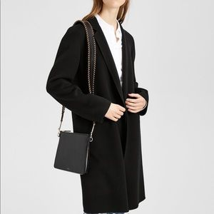 Theory Double Faced Essential Coat Black