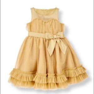 Sweaters Girls' Clothing (newborn-5t) Just Janie And Jack 2t Gold Sweater Ornate Opera