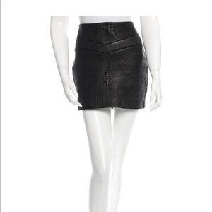 Iro leather skirt. Size 8 / 40