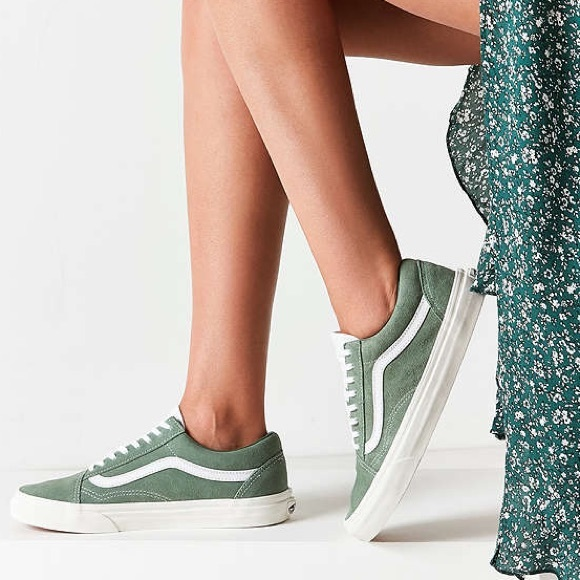 a25459e55a vans • olive green suede retro old skool. M 5a1f16a64e8d1744eb1707ff. Other  Shoes ...