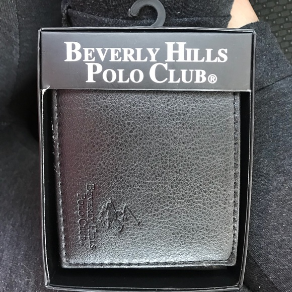 71c4749176b polo club Accessories   Black One Fold Beverly Hills Polo Wallet ...