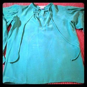 SOLD Vintage SOLD  Yves St Laurent silk Shirt
