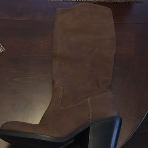 Tall Brown Boots Size: 7