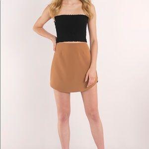 NWOT 💎 Tobi Celise Mini Skirt in Carmel