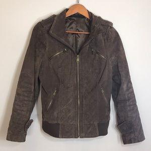 [Rachel Zoe Leather] Genuine 100% Leather Coat
