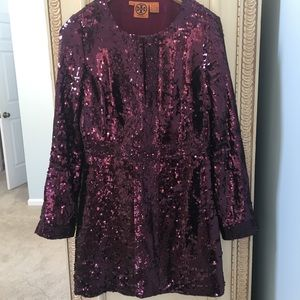 Tory Burch Sequin Mini Dress