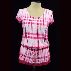 Michael Kors Top Tie Dye S 100% Cotton Tunic