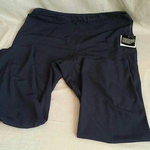 SAG HARBOR Dress Pants Dark Blue 16