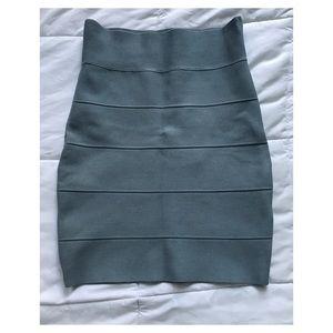 Gray bandage skirt size S