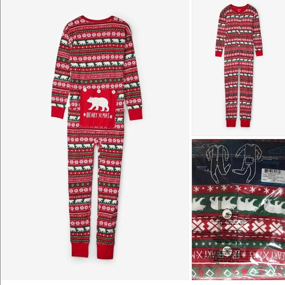 NEW WITH TAGS CHRISTMAS PAJAMAS ADULT MEN WOMEN 05aa2ab8f