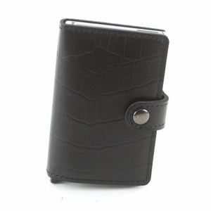 Other - RFID Safeguard Wallet - Black Croc