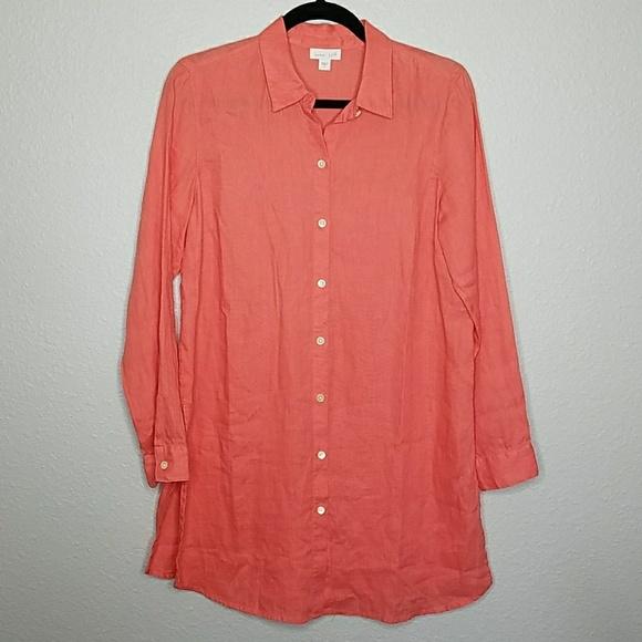 bd47a76fc J.Jill Tops   Jjill Love Linen Tunic Size Small   Poshmark