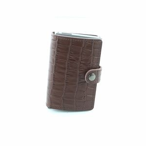 Other - RFID Safeguard Wallet - Brown Croc