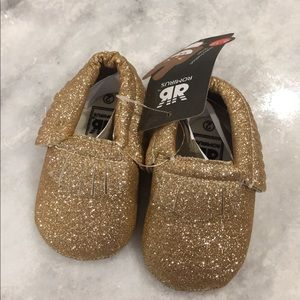 Other - NWT Baby Moccasins 6-12months