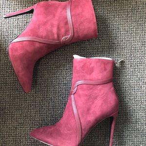 Rachel Zoe suede booties