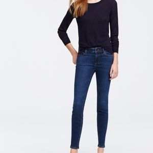 LOFT Super Skinny 26/4 blue jeans