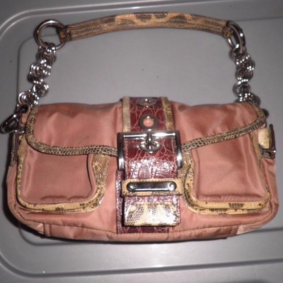 Prada Bags   Nylon Crocodile Python Bag In Neutral Tone   Poshmark 673bc12d08