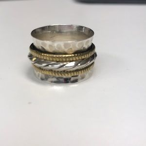 Jewelry - STERLING SILVER SPINNING RINGS  RING/BAND