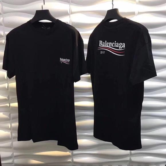 c25be2871 balenciaga Other - Balenciaga T-Shirt 2017 Campaign Logo Oversized