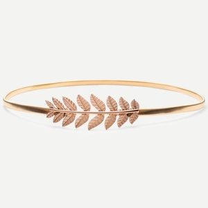 Accessories - 🆕🎁Gold leaf stretchy belt