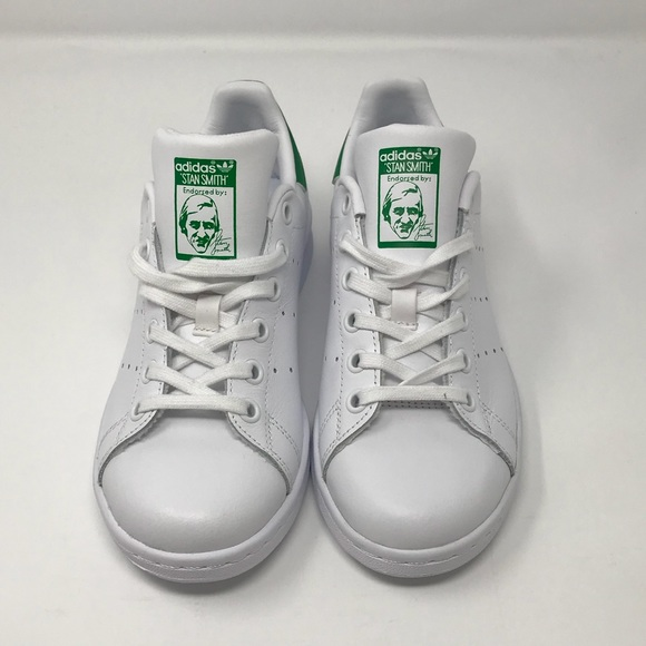 quality design 64bf2 38845 M20605 Adidas Stan Smith Kids Youth White Size 3.5 NWT