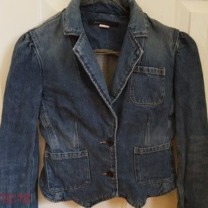 Marc Jacobs Denim Jacket Blazer Small