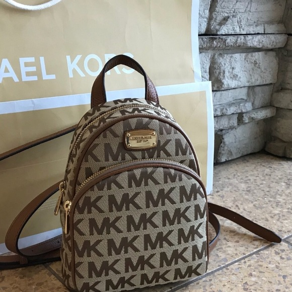 d4a45e17f050  248 Michael Kors ABBEY Backpack MK Bag Handbag