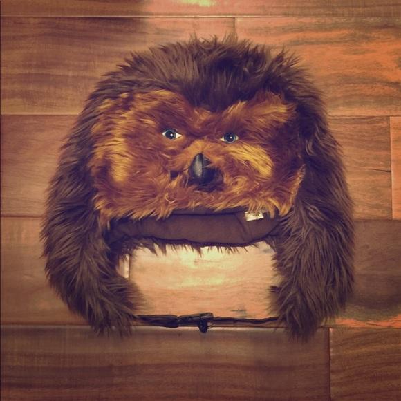 Disney Other - Disneyland Parks Star Wars Chewbacca hat beanie ef8f90b5bb03